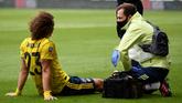 阿尔特塔:大卫-路易斯脚踝受伤,将在