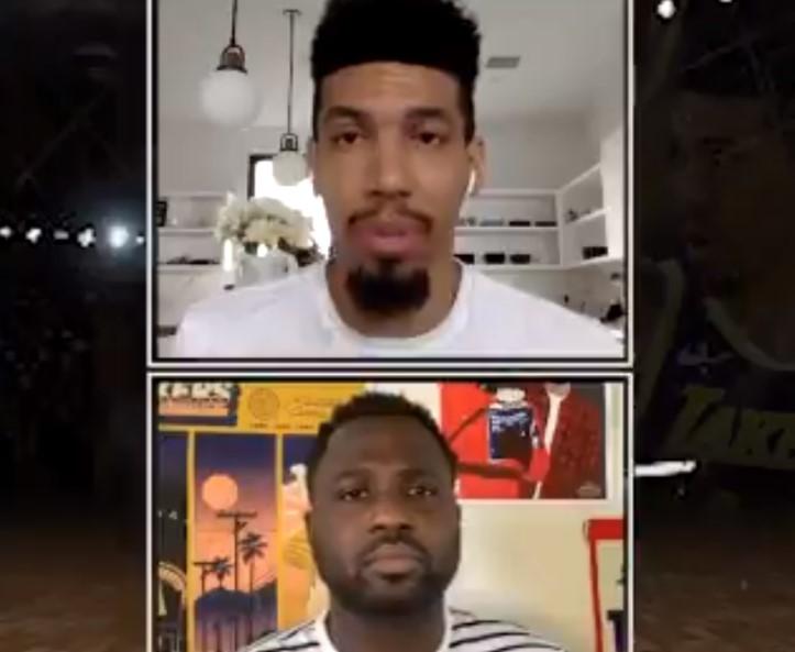 丹尼-格林:JR看起来相当不错,相信他会打得很好