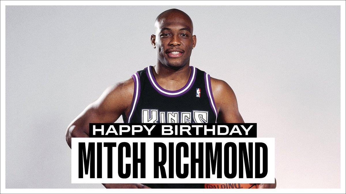 NBA官方推特晒图祝名宿米奇-里奇蒙德55岁生日喜悦
