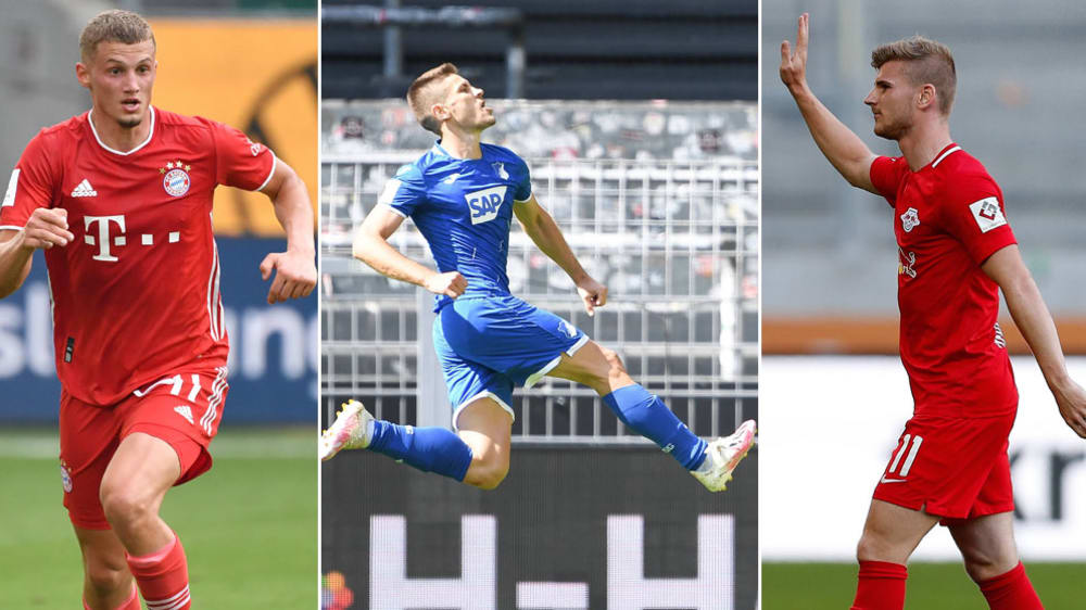 踢球者德甲周最佳:克拉马里奇领衔,维尔纳和屈桑斯在列