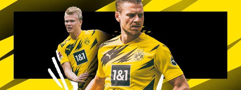 黄黑闪电!多特官方正式发布2020/21赛季主场球衣
