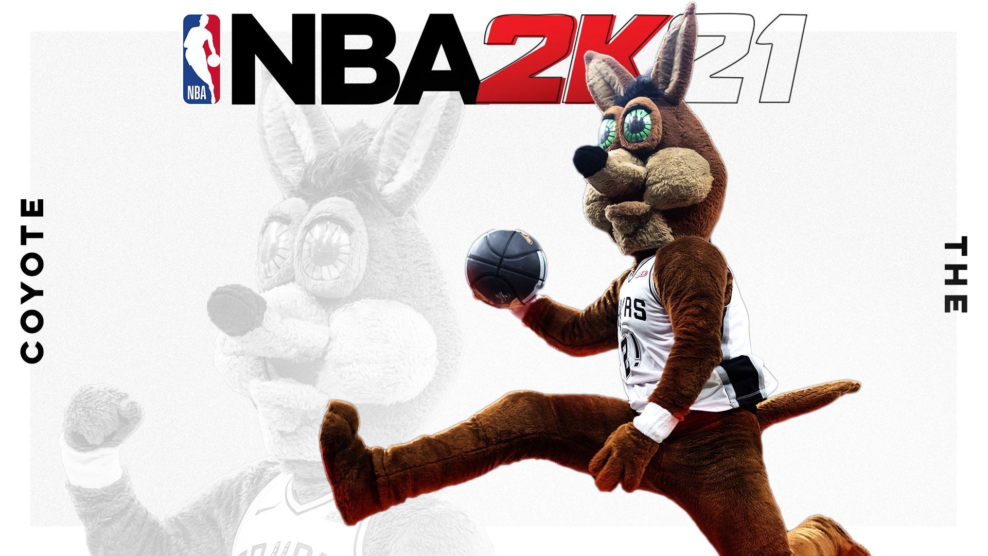 马刺吉祥物官推恶搞:这里是NBA 2K21的下一位封面球星