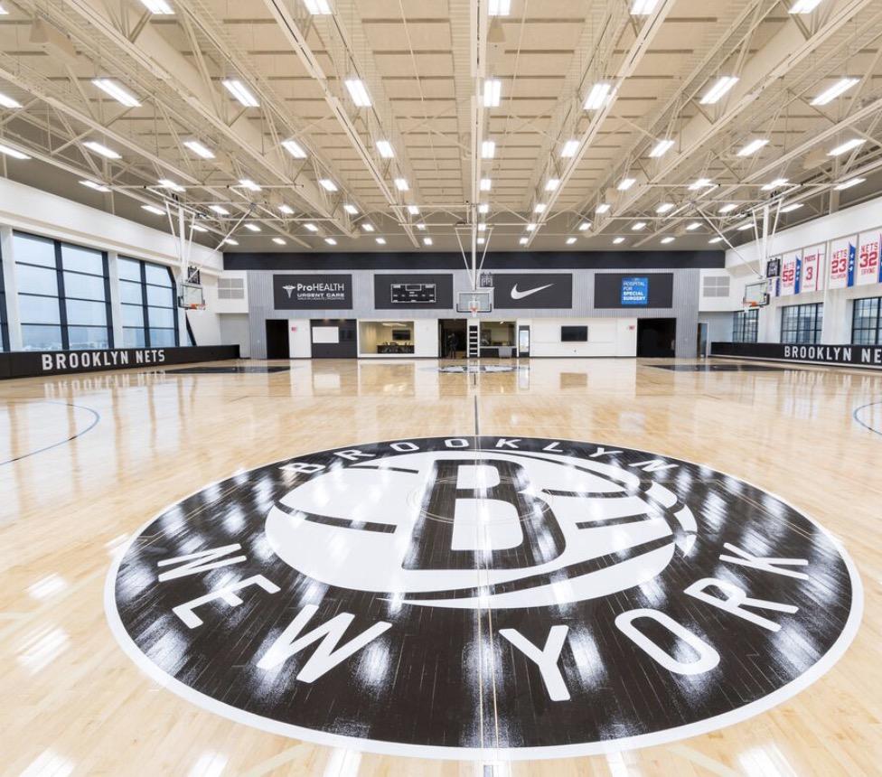 在关闭数日后,篮网今日重新开放训练馆