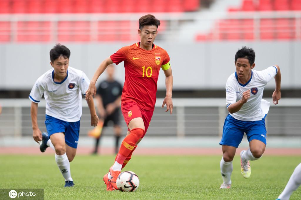 热身赛:何小珂出战,U16国少4-0青岛中能U17梯队