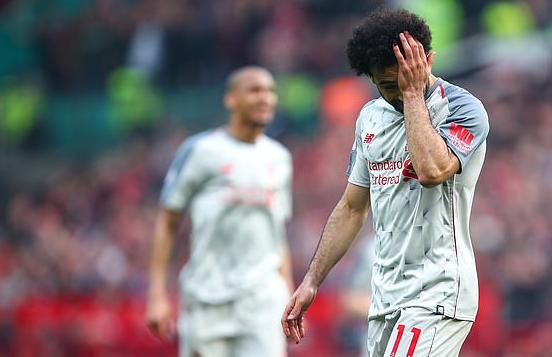 萨拉赫:上赛季客平曼联后我哭了,那时就感觉冠军已走远