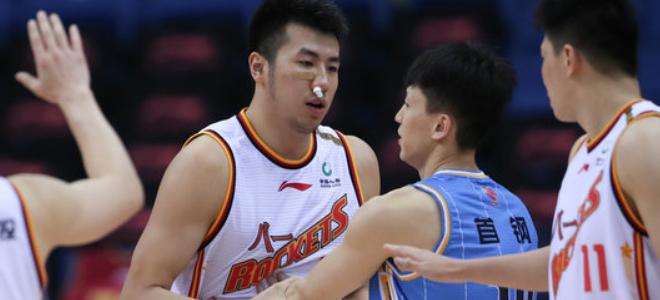 邹雨宸CBA生涯总盖帽超兰多夫,上升至历史第39位