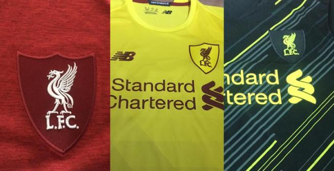 利物浦新赛季球衣谍照曝出,NB和耐克两套设计