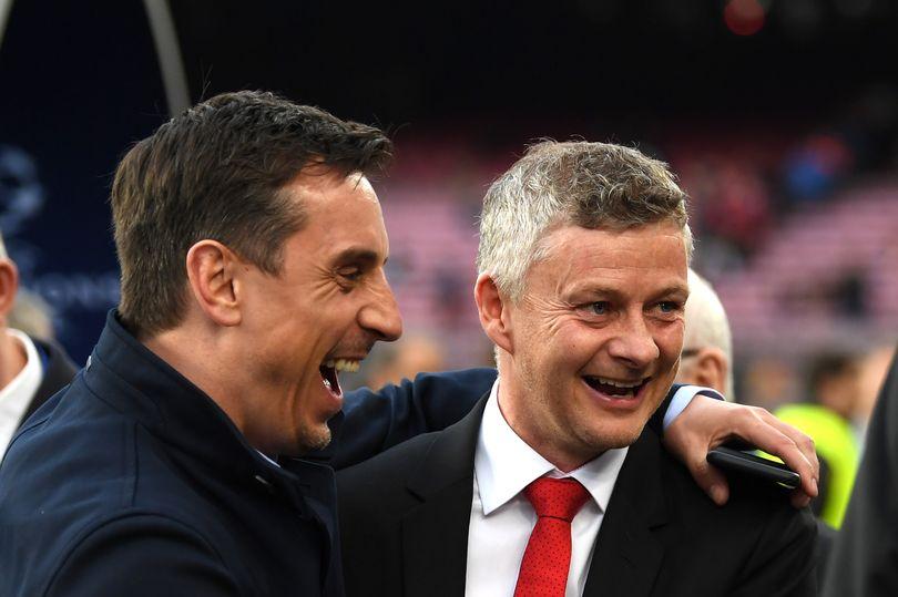 内维尔表示曼联现阶段还无法争冠,索帅:同意