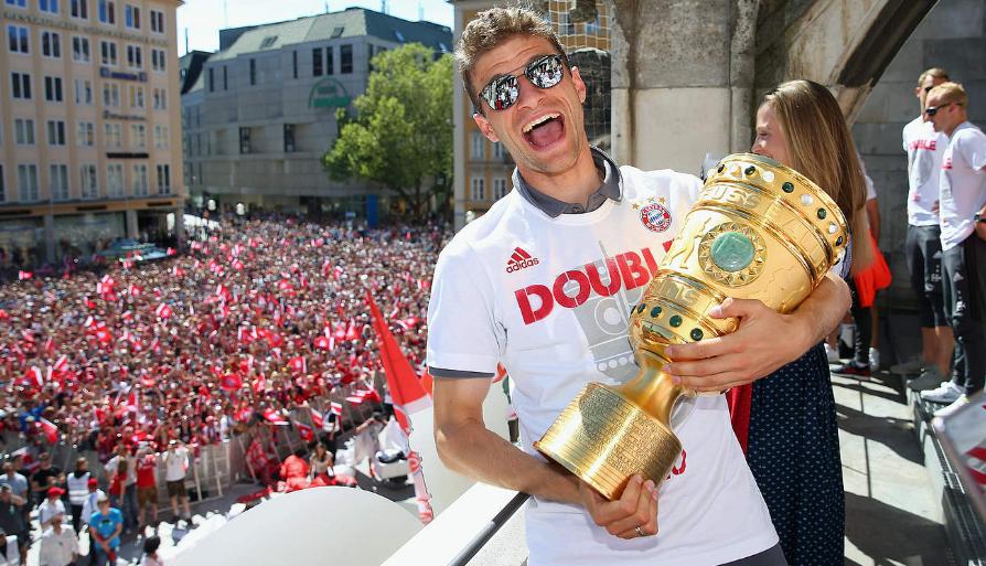 传奇!穆勒8次出战德国杯决赛,追平里贝里纪录