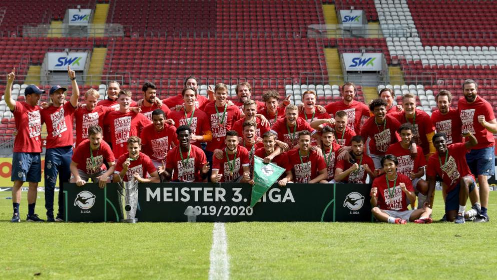 升班马奇迹!拜仁二队成为第一支德丙夺冠的德甲二队