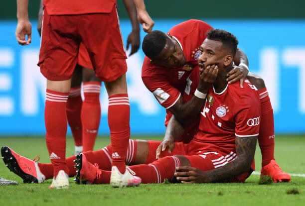 踢球者:博阿滕的伤势不严峻,不会错过下个月的欧冠竞赛