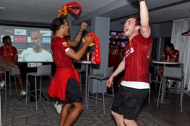范戴克:出去玩10个中8个红军球迷,艰苦训练是成功秘诀