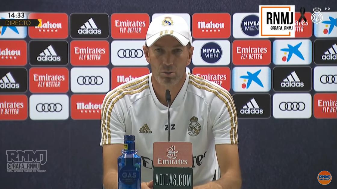 齐达内:阿扎尔身体不舒服,希望赛季末之前还能回归