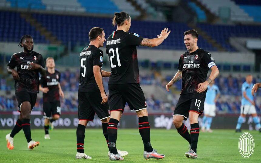 恰尔汗奥卢伊布雷比奇建功,AC米兰3-0拉齐奥