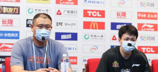 王晗谈对阵新疆:跟强队打要注意节奏冠亚体育手机版,周琦这点难解决