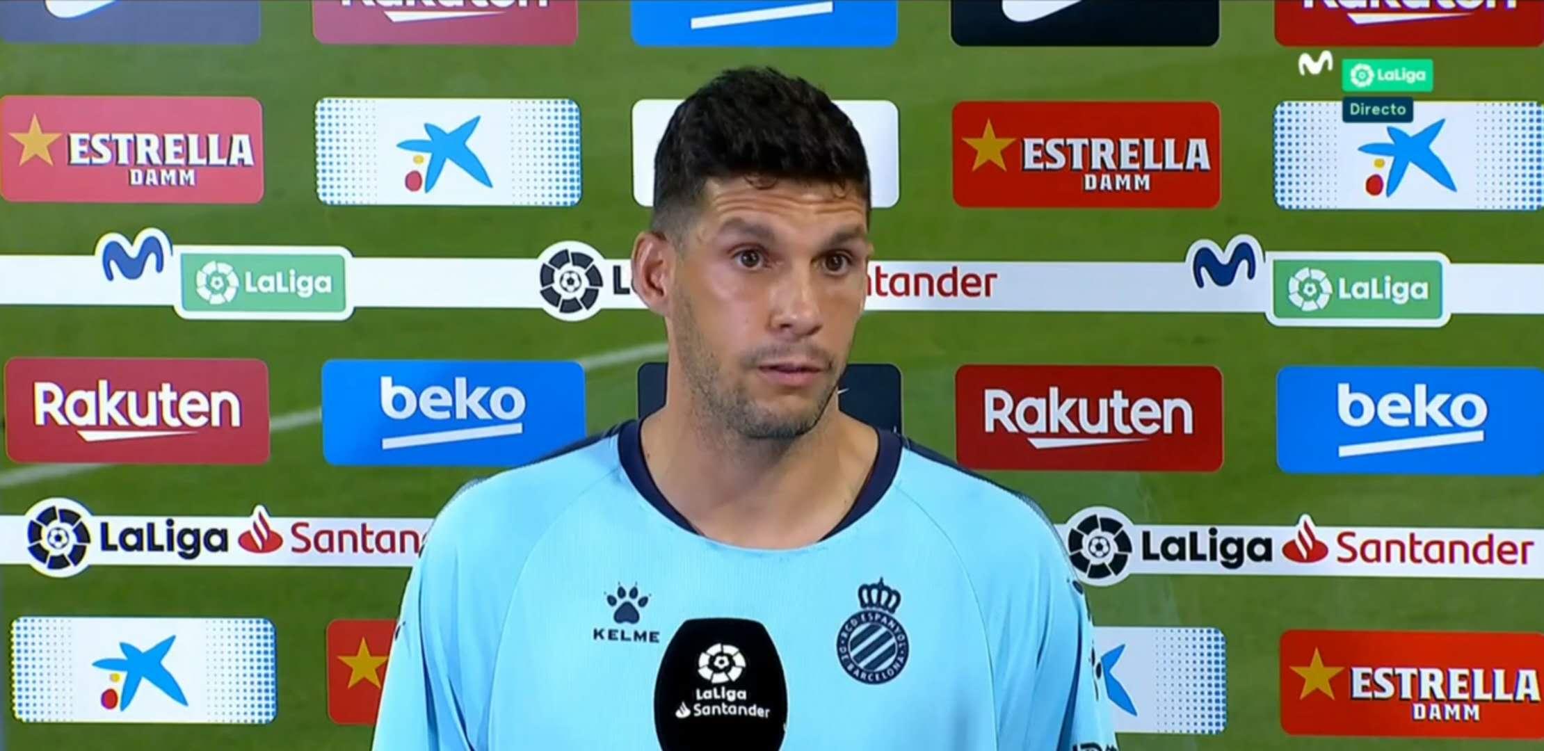 西班牙人队长:为我的队友自豪;向球迷们抱歉