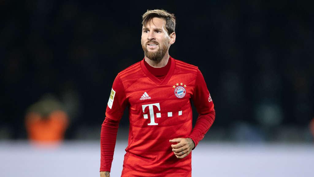 慕尼黑日报:梅西来拜仁只能在梦里,肯定不现实