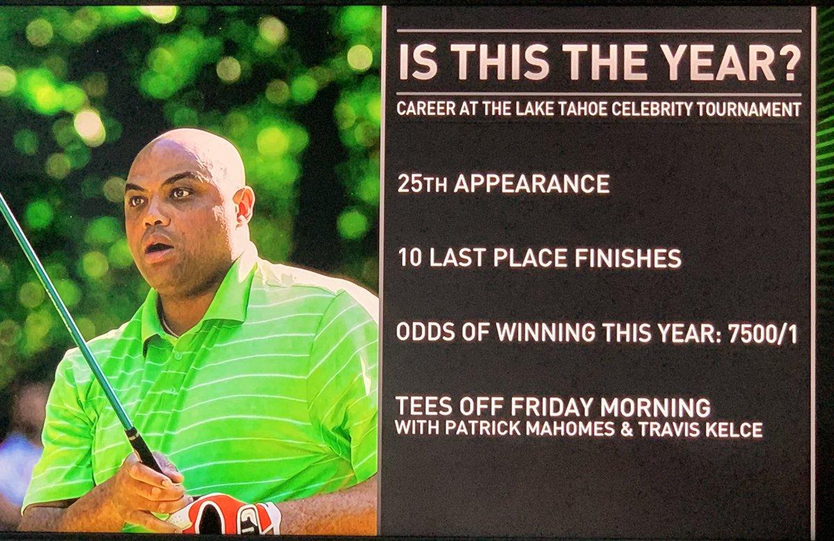 记者打趣巴克利高尔夫球赛战绩:参添25次,10次倒数第一