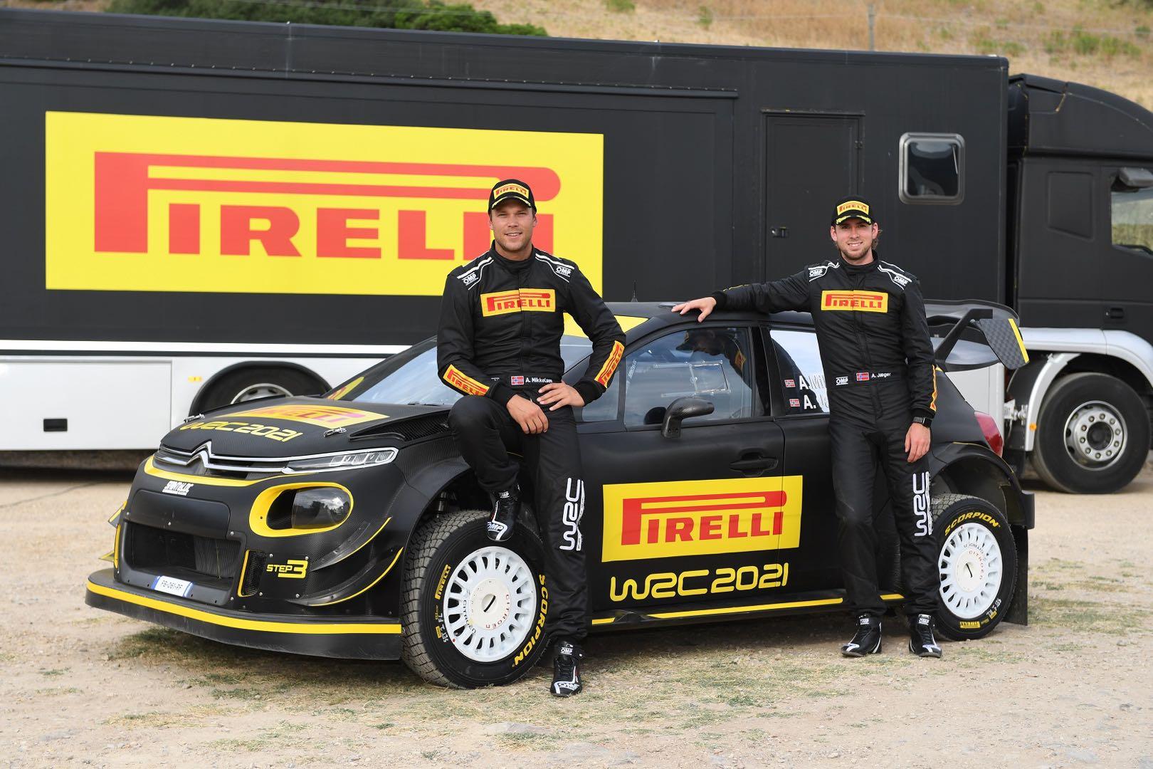 倍耐力在撒丁岛开启WRC标准轮胎测试