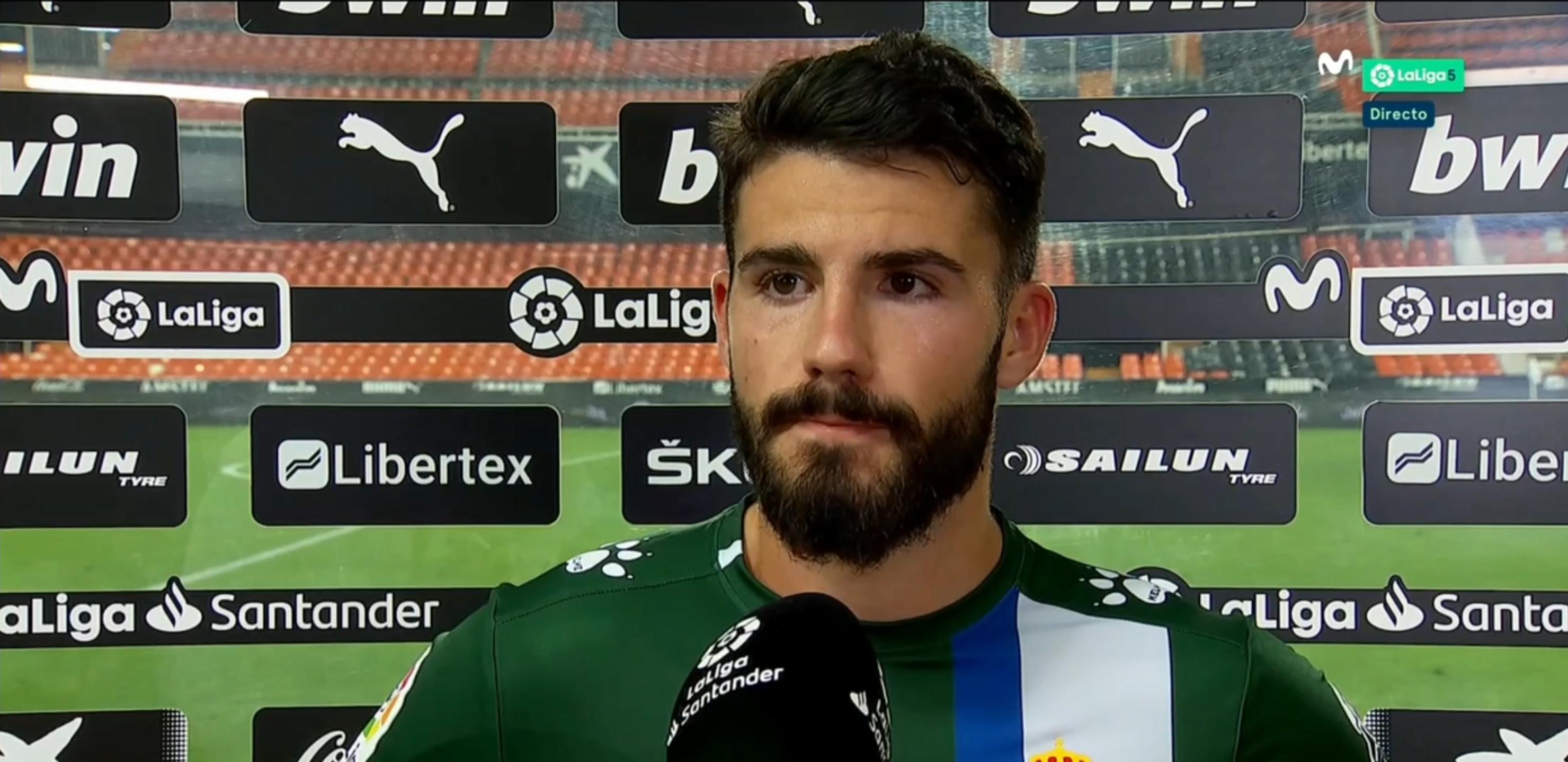 西班牙人后卫:我们尽力了,但运气太差;武磊那球很可惜