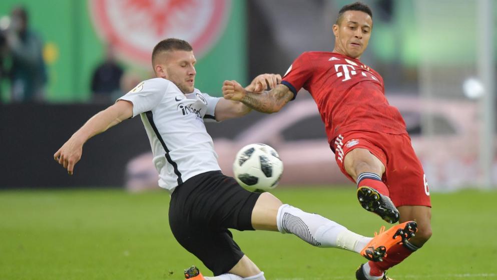 雷比奇:蒂亚戈当年德国杯决赛寻衅咱们,我其时想杀了他