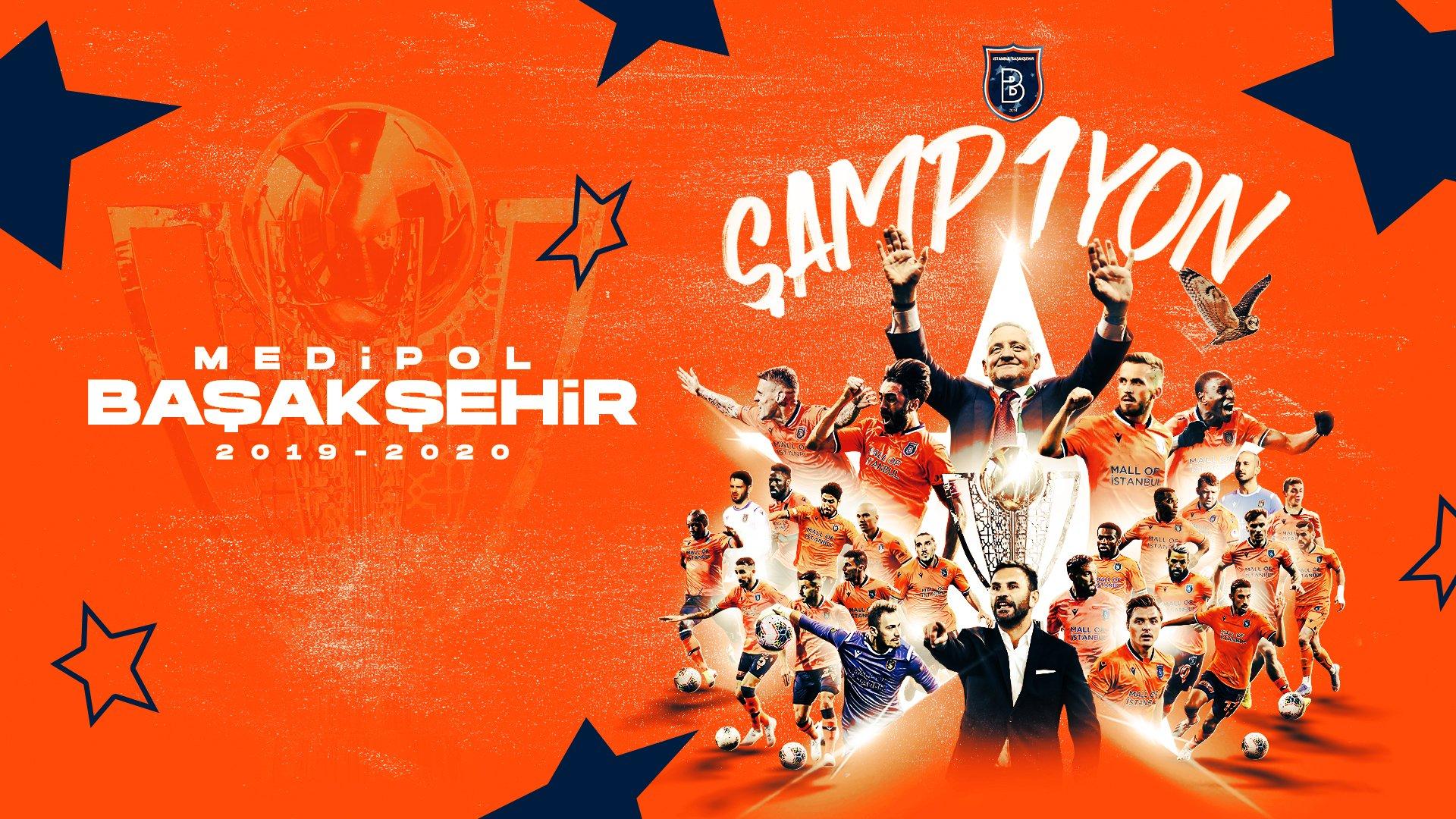 队史首冠!伊斯坦布尔提前一轮夺得2019/20赛季土超冠军