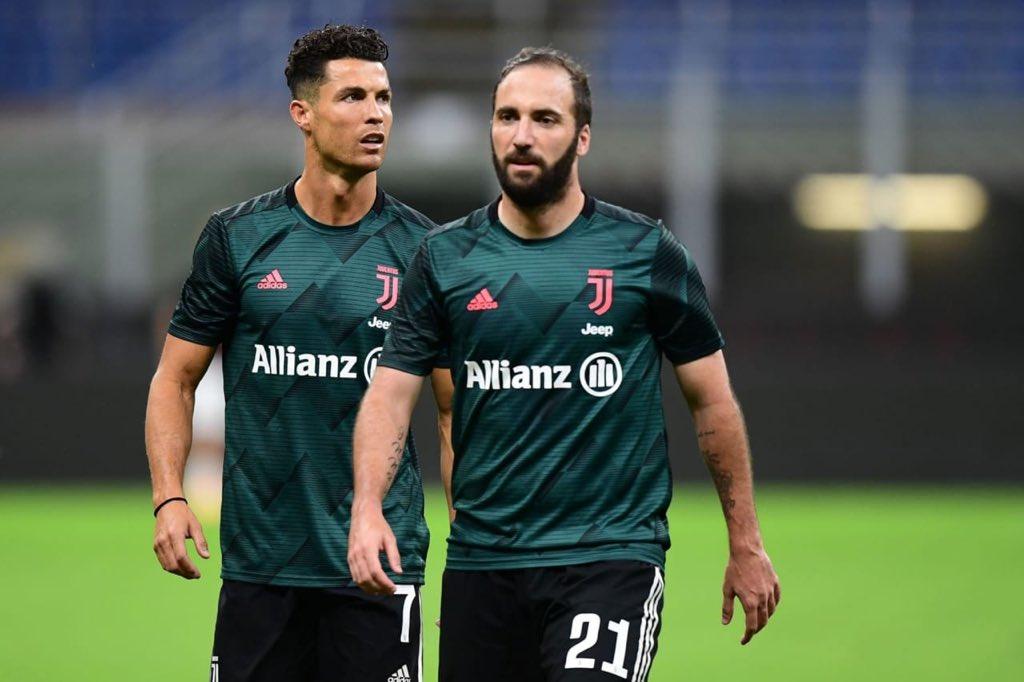伊瓜因和C罗,萨里是首位执教2名球员意甲进球30 的主帅