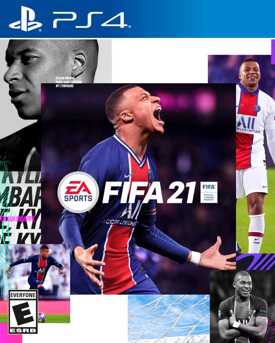 EA官方:姆巴佩成为FIFA21封面人物