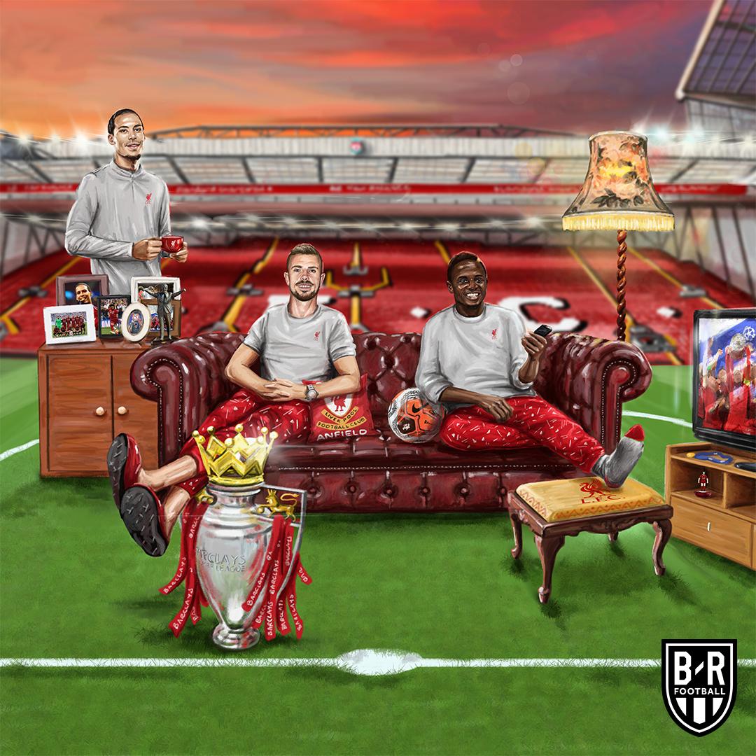 利物浦连续3个赛季英超主场不败,英超31胜均队史首次