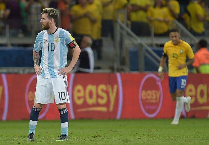 奥莱报:阿根廷正计划9月份同巴西队进行一场友谊赛