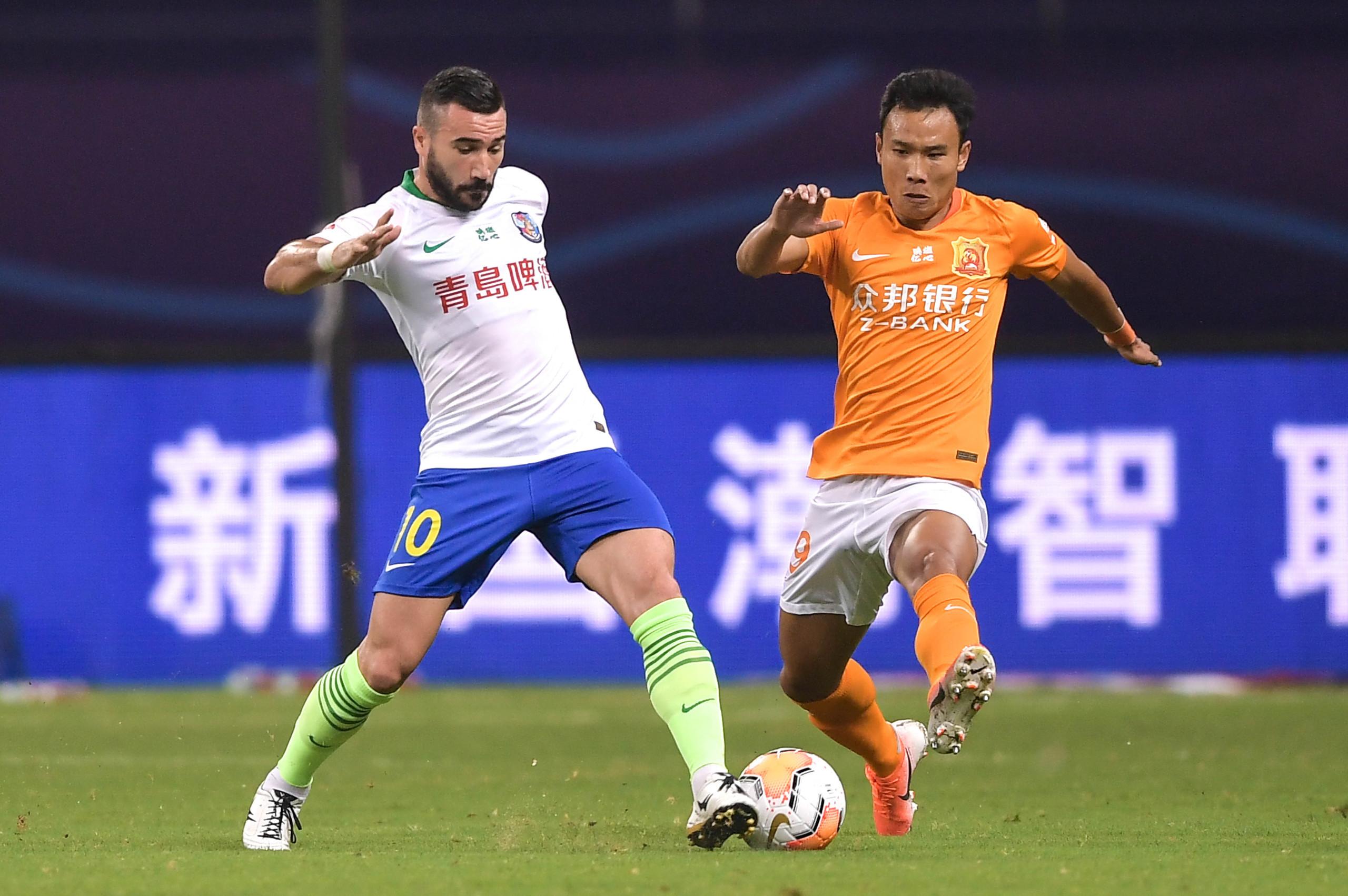 半场:刘云推射造殷亚吉乌龙,卓尔1-0黄海