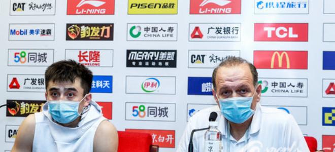 罗汉琛:遗憾没进季后赛,回去总结争取新赛季有改变