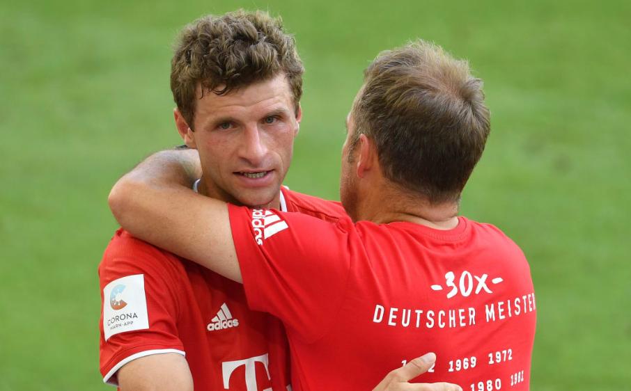 穆勒:弗里克让拜仁踢的很有条理,上一次还是在瓜帅手下