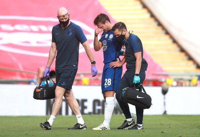 GIF:阿斯皮利奎塔因伤无法坚持比赛,被克里斯滕森换下