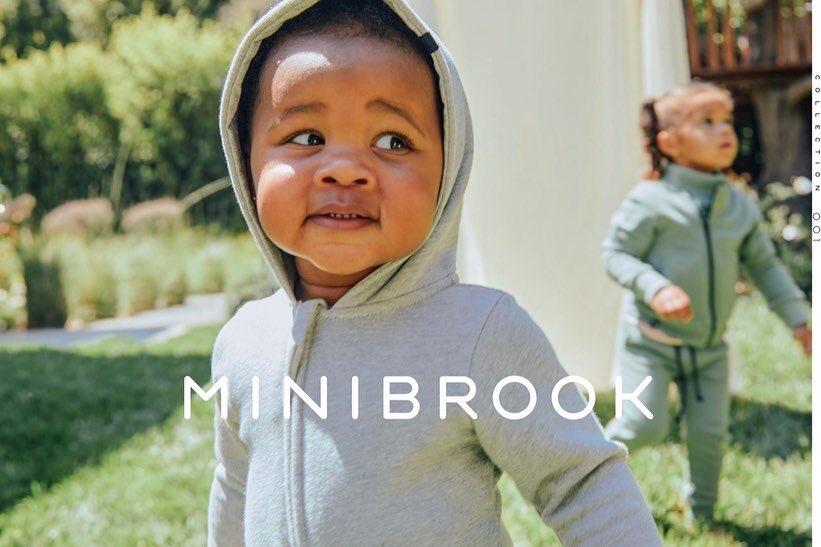 威少妻子推出自己的服装品牌Minibrook