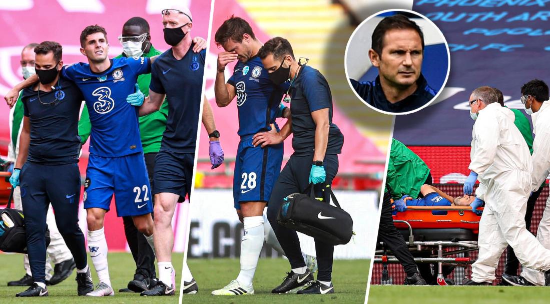 图片报:切尔西三人因伤无缘出战拜仁,两人因黄牌停赛