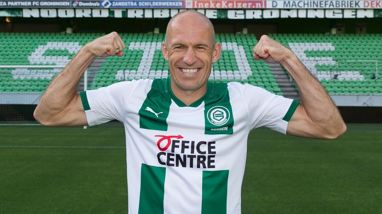官方:罗本成为格罗宁根新赛季的球队队长