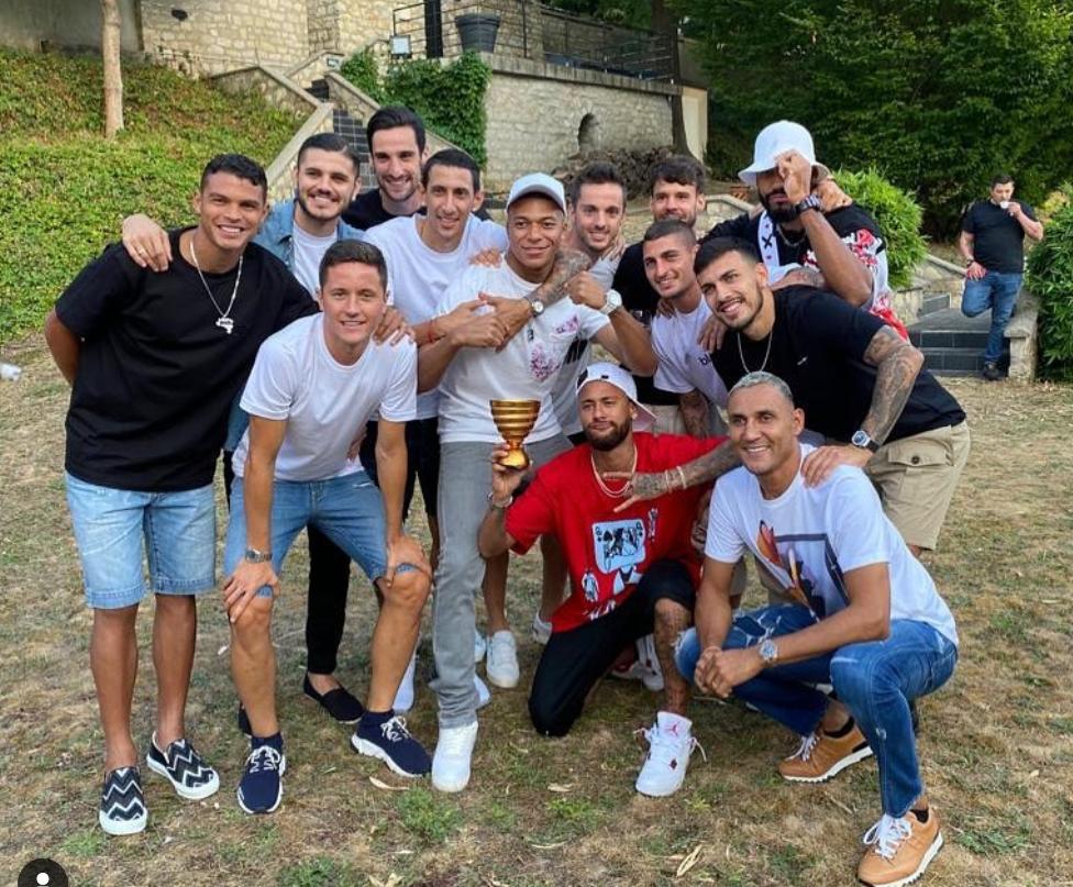 迪马利亚发文庆祝冠军:大家在一起才是团队最重要的事情