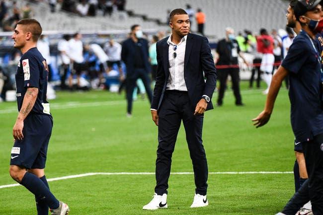 巴黎人报:姆巴佩本周末或可有球训练,赶上亚特兰大比赛
