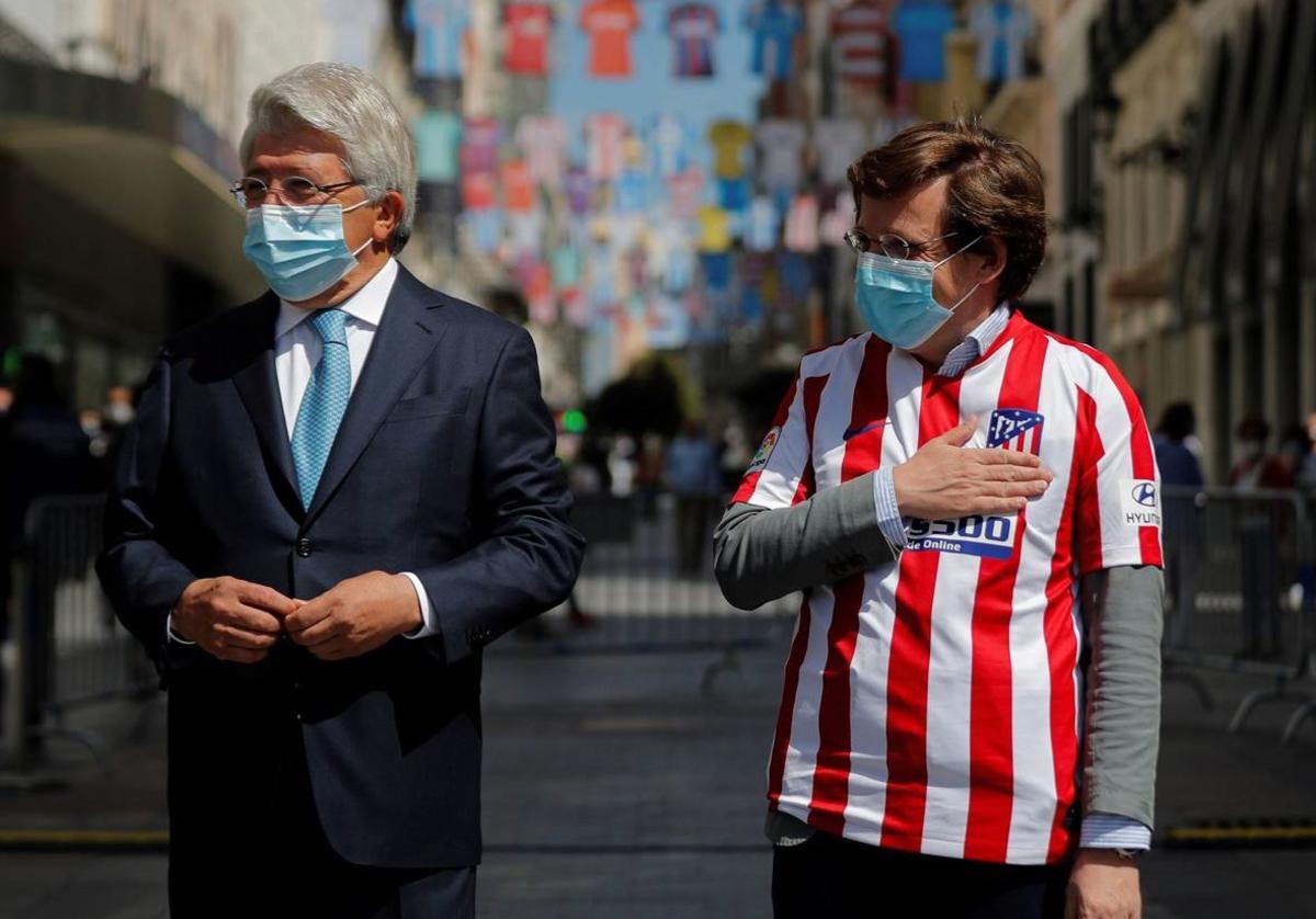 马德里市长:乐意当马竞主席,我们若夺欧冠那将非常开心