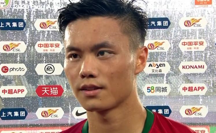 冯博轩:双方都有很多机会,我们防守任意球时有些放松