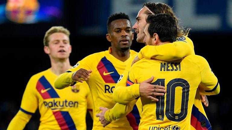 巴萨欧冠主场35场不败历史第二,仅次于拜仁的43场