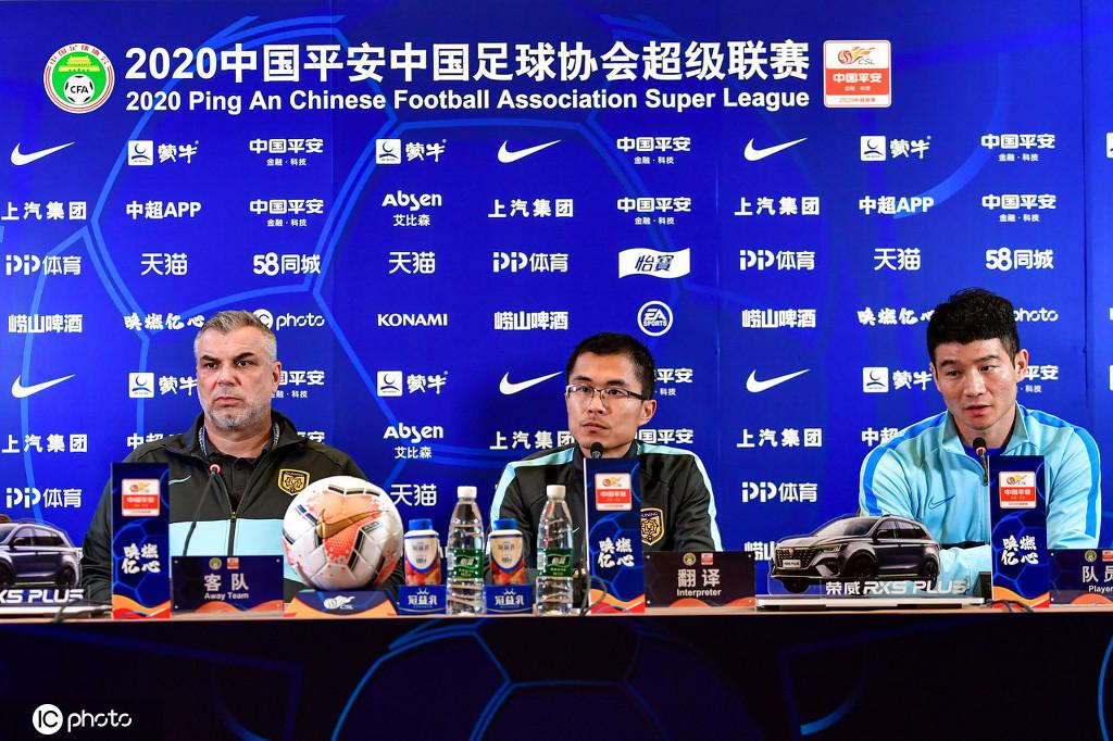 奥拉罗尤:尊敬苏宁球员的斗志,后防线要集中注意力