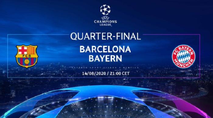 拜仁队在欧洲冠军联赛淘汰赛中与巴塞罗那共遇3次,晋升的球队赢得了冠军