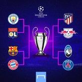 8强确认后欧冠冠军赔率榜:曼城居首 拜仁巴黎巴萨2-4位