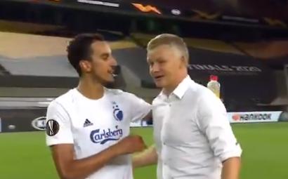 红魔球迷?哥本哈根队长:感谢索肖在曼联所做的一切