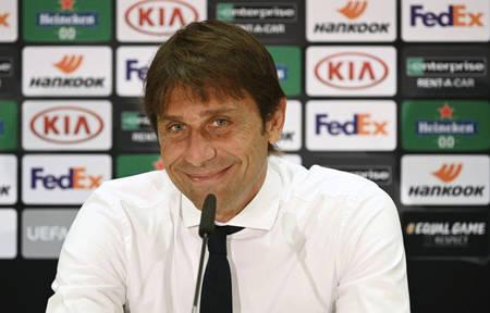 孔蒂:为卢卡库的发挥感应开心,但他也需谢谢球队的支持