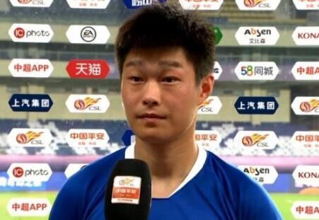 钟纪宇:打进个人中超首球非常激动,拿下比赛感谢团队