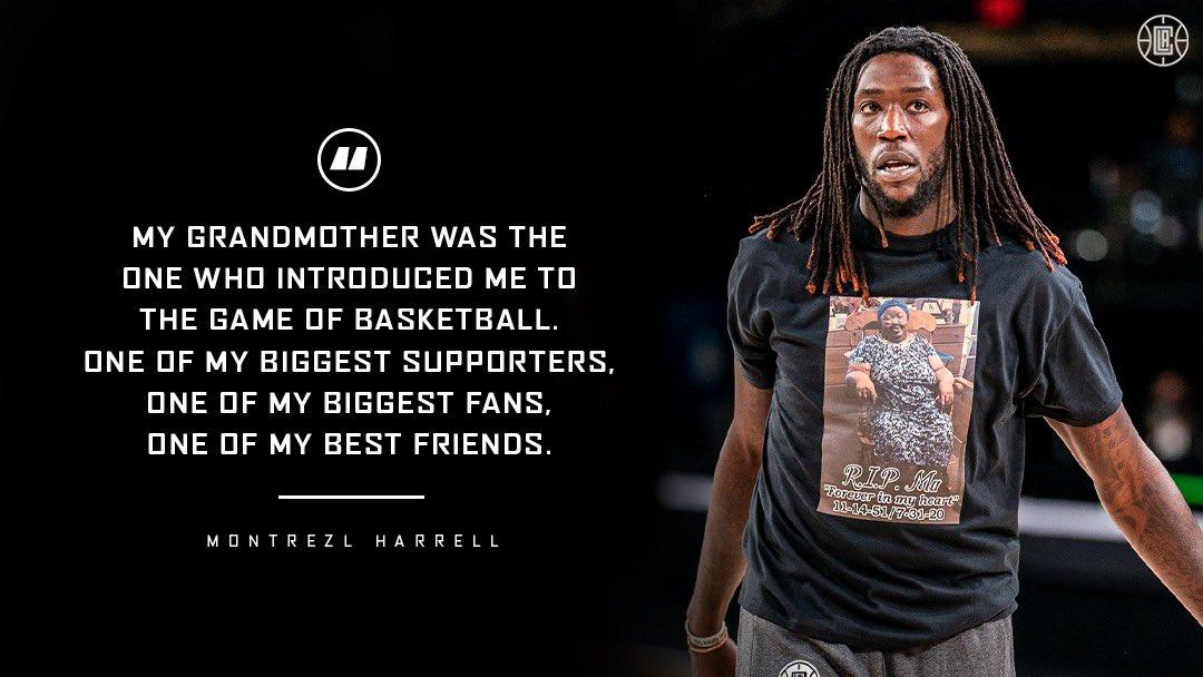 哈勒尔:祖母让我接触到篮球 她是我最忠实的粉丝之一