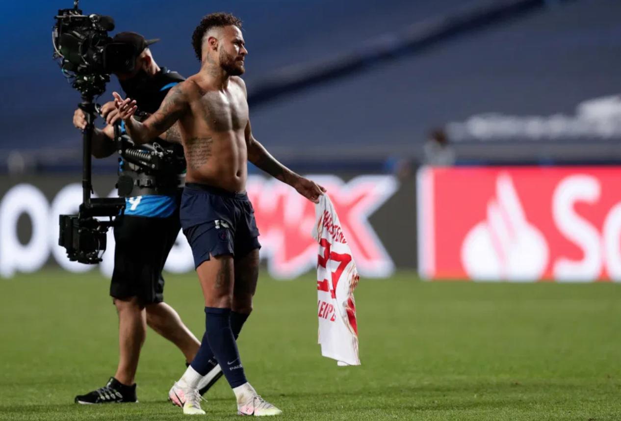 太阳报:内马尔赛后违规交换球衣,或将被禁赛1场无缘决赛